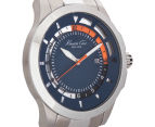 Kenneth Cole Men's 45mm Transparency Watch - Silver/Blue 2