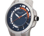 Kenneth Cole Men's 45mm Transparency Watch - Silver/Blue 3