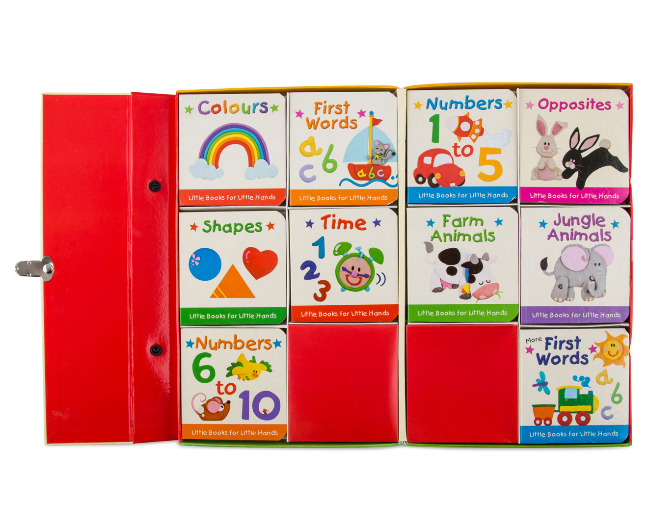 Bright Stars First Words 10 Early Learning Books Farm