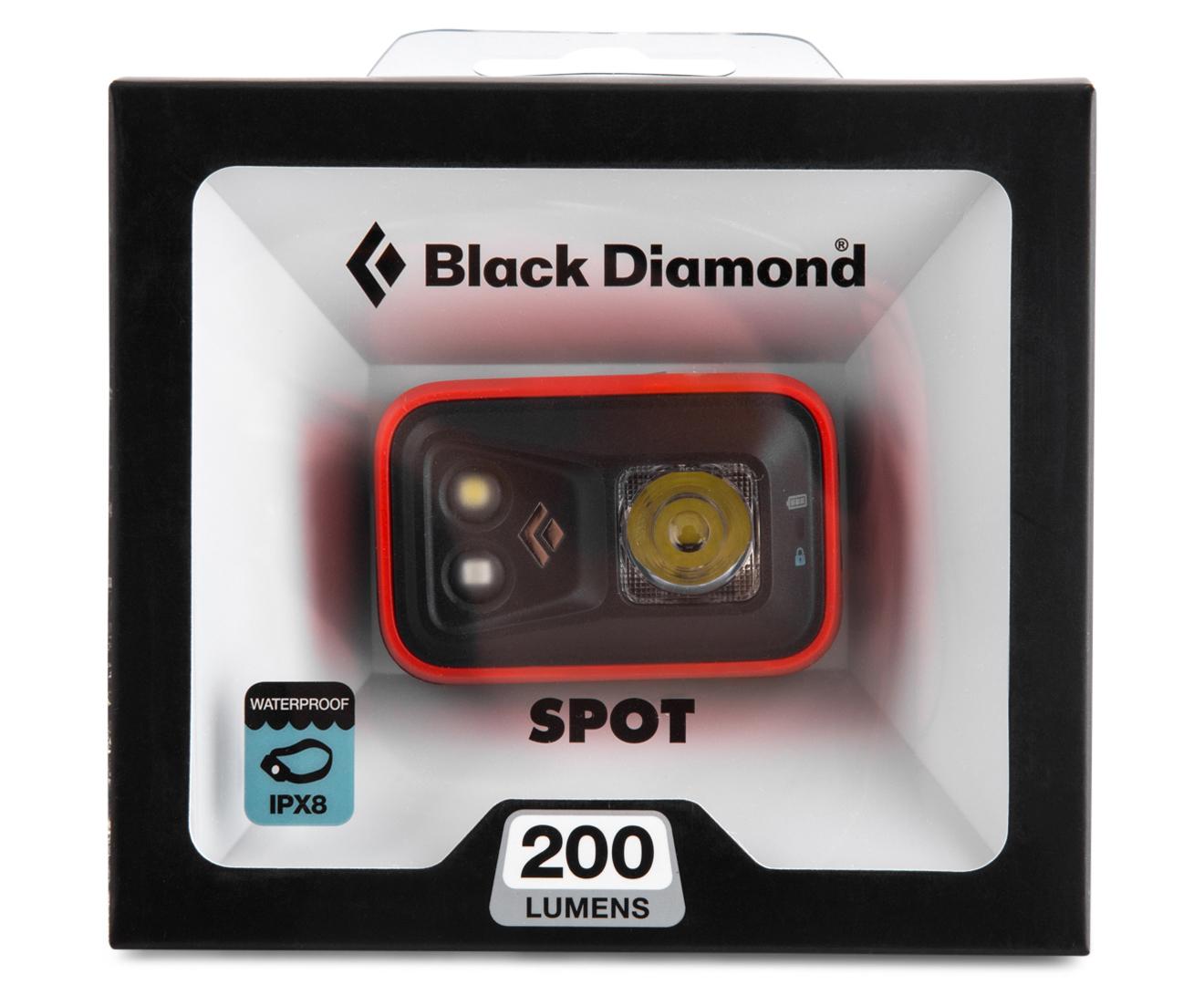 Black Diamond Spot  Lumens Australia