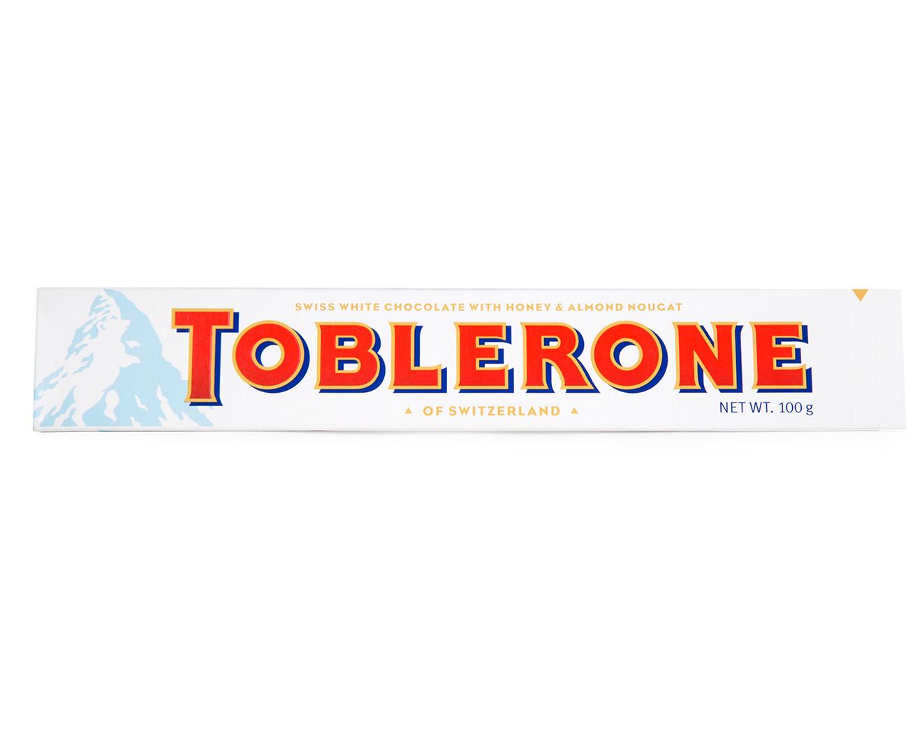 3 X Toblerone White 100g
