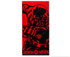 Star Wars 60x120cm Darth Vader Force Towel - Red/Black 1