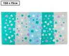 Cosi Kids' 75 x 150cm Bath Towel - Confetti Stripe 1