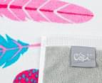 Cosi Kids' 75 x 150cm Bath Towel - Tickle Me Pink 5