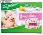 Trafalgar 20-Piece Baby Care Kit with digital thermometer - Pink 1