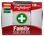 Trafalgar 126-Piece Family First Aid Kit + QuicKit 3