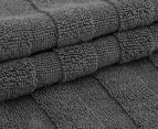 Ralph Lauren 33x33cm Palmer Wash Towel - Grey 3