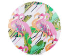 Cooper & Co. 60cm Round Canvas Wall Art - Flamingo 1