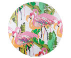 Cooper & Co. 80cm Round Canvas Wall Art - Flamingo 1
