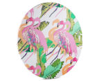 Cooper & Co. 60cm Round Canvas Wall Art - Flamingo 2