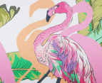 Cooper & Co. 60cm Round Canvas Wall Art - Flamingo 4