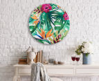 Cooper & Co. 60cm Round Canvas Wall Art - Tropical 6