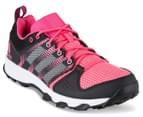 Adidas Women's Galaxy Trail Shoe - Bahia Pink/White/Ray Pink 2