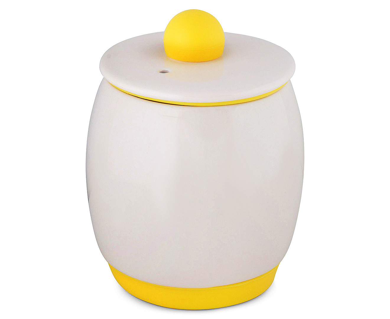 Eggy Egg Cooker White Yellow Great Daily Deals At