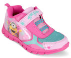 Minions Girls' Jogger Shoe - Pink 2