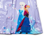 Frozen Kid's Raincoat - Purple/Turquoise 3