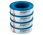 Angelcare Nappy Disposal System Starter Kit - White 4
