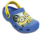 Creative Crocs Kids' Minions Clog - Blue/Yellow 2