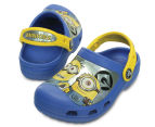Creative Crocs Kids' Minions Clog - Blue/Yellow 4