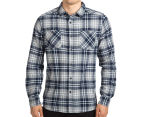 Mossimo Men's Michael Long Sleeve Shirt - Navy 2