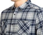 Mossimo Men's Michael Long Sleeve Shirt - Navy 6