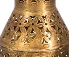 Small Vintage Look 29cm Lantern - Antique Gold 5