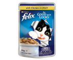 12 x Purina Felix As Good As It Looks Chicken 85g 2