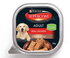12 x Purina Supercoat Classic Loaf Chicken for Adult Dogs 100g 2