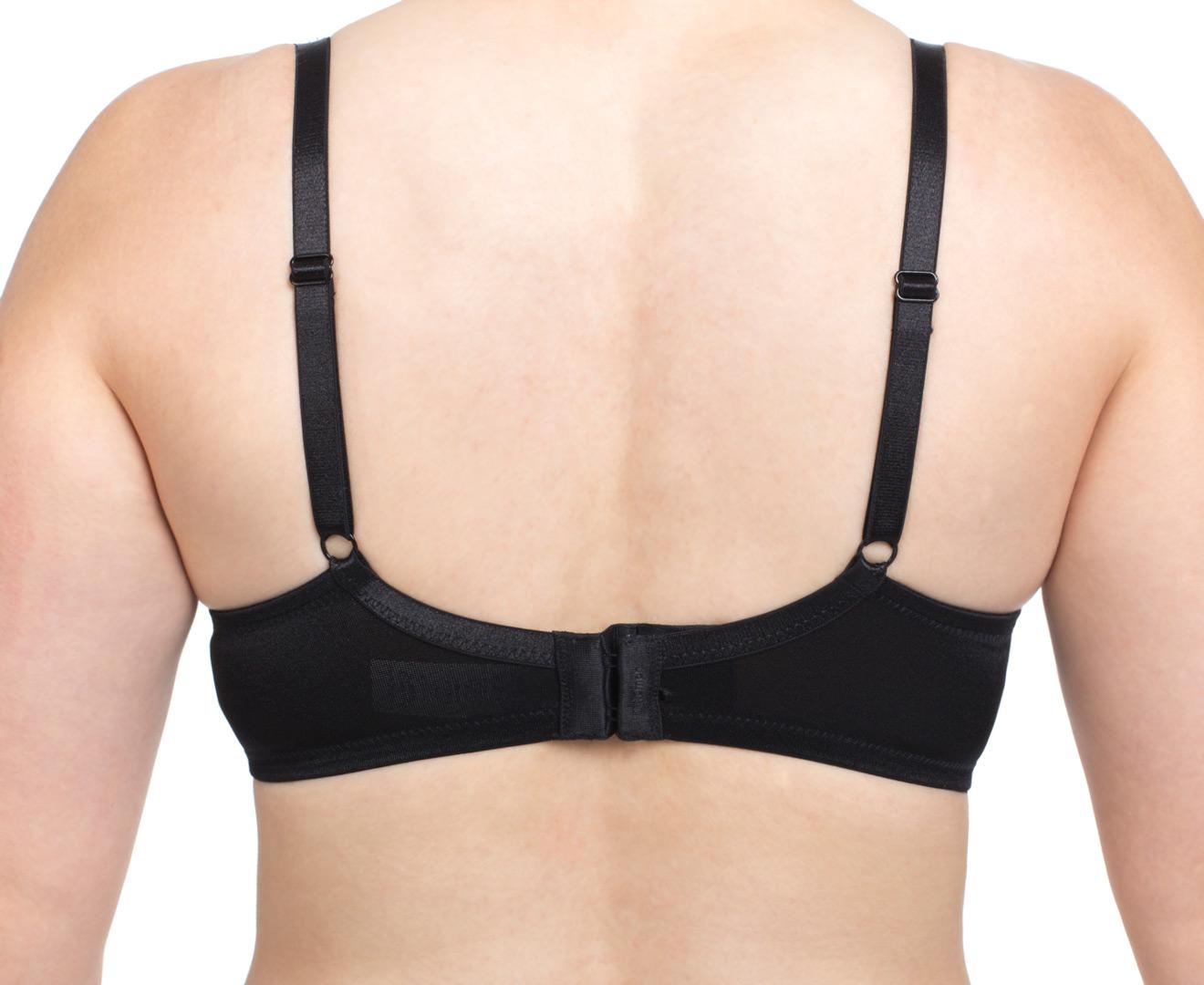 Triumph women 39 s pure luxury support w bra black ebay for Triumph t shirt bra