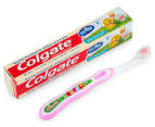 Colgate My First Toothbrush & Toothpaste Starter Kit - Pink 3