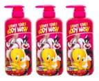 Warner Bros. Body Wash 1L 3-Pack - Looney Tunes 1