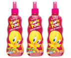 Warner Bros. Knot Fun Hair Detangler 3-Pack - Tweety Bird 1