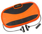 Vibration Machine Multiple Exercise Platform - Orange 2