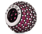 Pandora Red Pave Lights Ball Charm - Red 1
