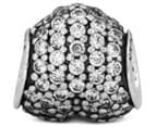 Pandora Pavé Heart Charm - Silver/Clear 5