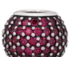 Pandora Red Pave Lights Ball Charm - Red 6