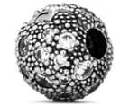 Pandora Cosmic Stars Clear Clip Charm - Silver 2