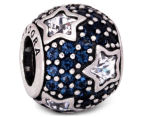 Pandora Follow The Stars Pavé Charm - Silver/Midnight Blue 5