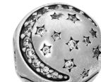 Pandora Twinkling Night Clip Charm -  Silver 6