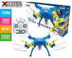 Xtreem Sky Ranger Quadcopter 720p WiFi Camera Drone - Yellow/Blue 1