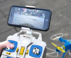 Xtreem Sky Ranger Quadcopter 720p WiFi Camera Drone - Yellow/Blue 4