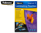 Fellowes A3 Glossy 80 Micron Laminating Pouch 100-Pack 1