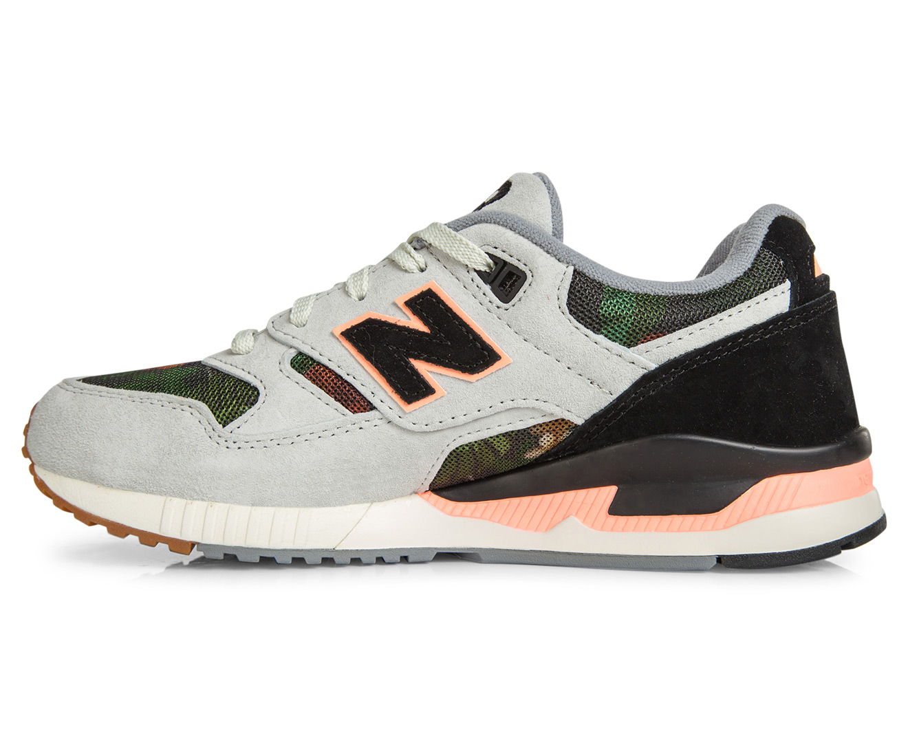 732796ef28e New Balance Women s 530 Classic Floral Ink Sneaker - Steel Black Coral