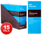 15 x The Chocolate Counter Mylk Chocolate Bar 50g 1