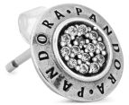 Pandora Signature Stud Earrings - Silver 5