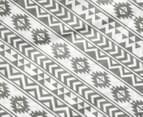 Living Textiles Baby 2-Piece Tribal Cot Sheet Set - Grey 4