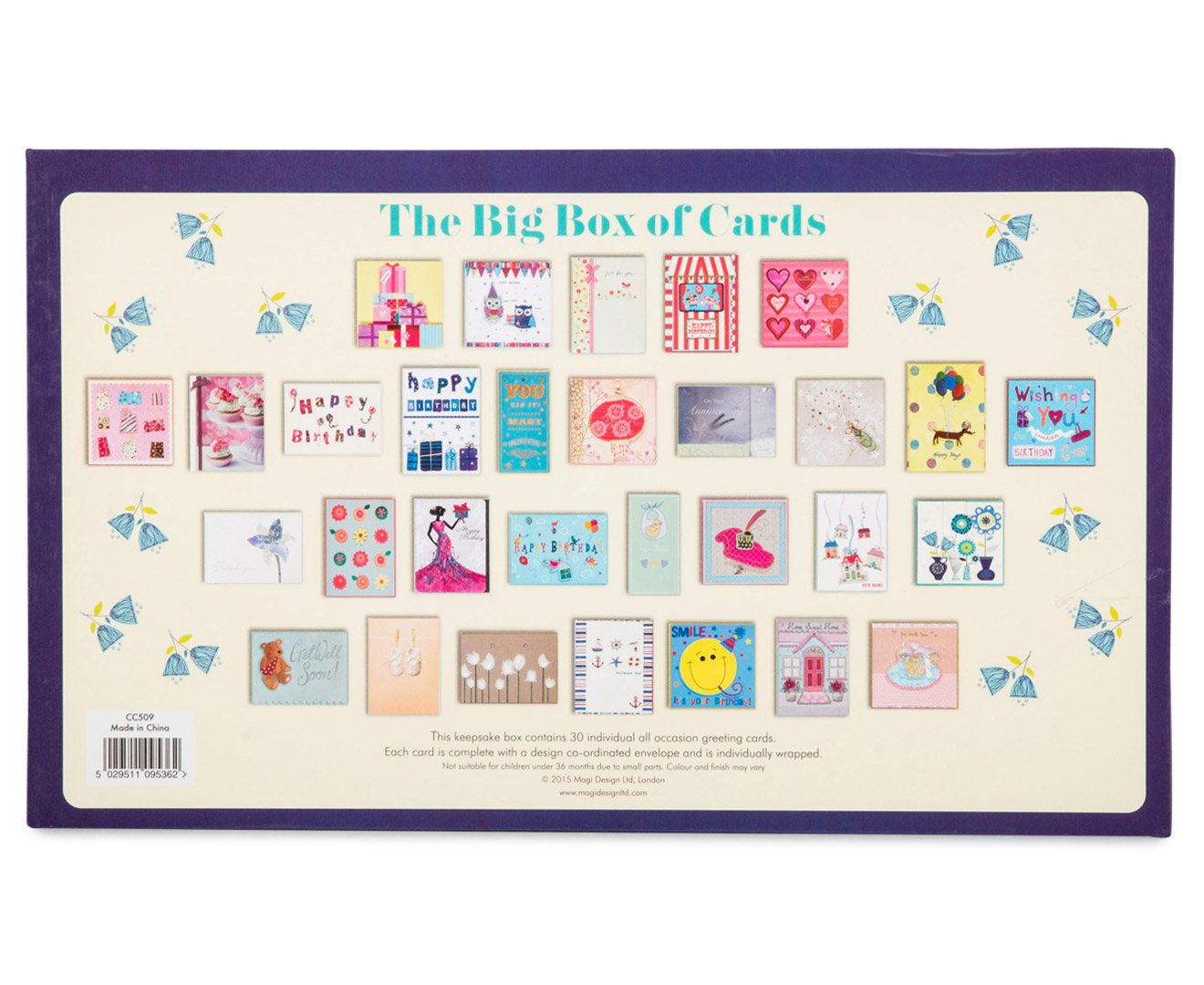 Big Box Of Cards Greeting For All Occasions 30 Pack