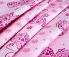 Living Textiles Baby 2-Piece Butterfly Cot Sheet Set - Pink 3