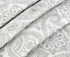 Living Textiles Henna Smart-Swaddle Muslin Wrap - Silver 3