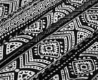 Living Textiles Tribal Smart-Swaddle Muslin Wrap - Black 4